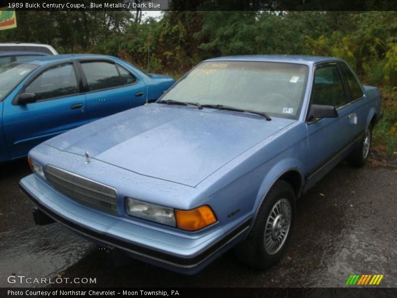 1989 buick century coupe in blue metallic photo no. Black Bedroom Furniture Sets. Home Design Ideas