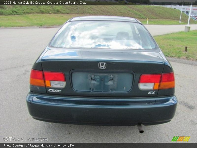 1998 honda civic ex coupe in cypress green pearl photo no 36700297. Black Bedroom Furniture Sets. Home Design Ideas