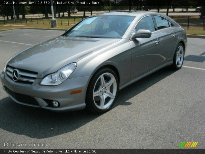 2011 mercedes benz cls 550 in palladium silver metallic for 2011 mercedes benz cls 550