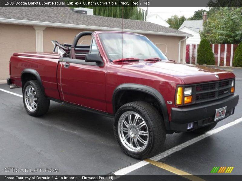 Photo on 1989 Dodge Dakota Sport 4x4 Convertible