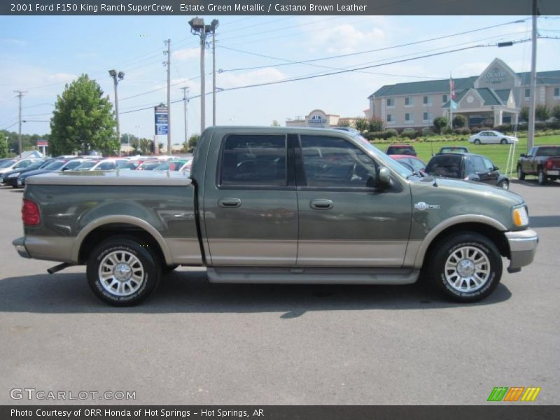 2001 ford f150 king ranch supercrew in estate green metallic photo no. Cars Review. Best American Auto & Cars Review