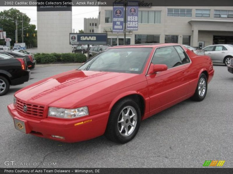 2002 cadillac eldorado collectors series in aztek red. Black Bedroom Furniture Sets. Home Design Ideas