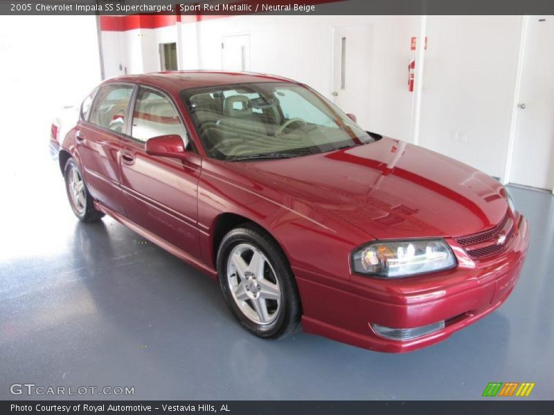 2005 chevrolet impala ss supercharged in sport red metallic photo no 36972061. Black Bedroom Furniture Sets. Home Design Ideas