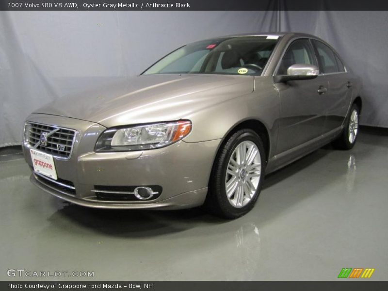 2007 volvo s80 v8 awd in oyster gray metallic photo no. Black Bedroom Furniture Sets. Home Design Ideas