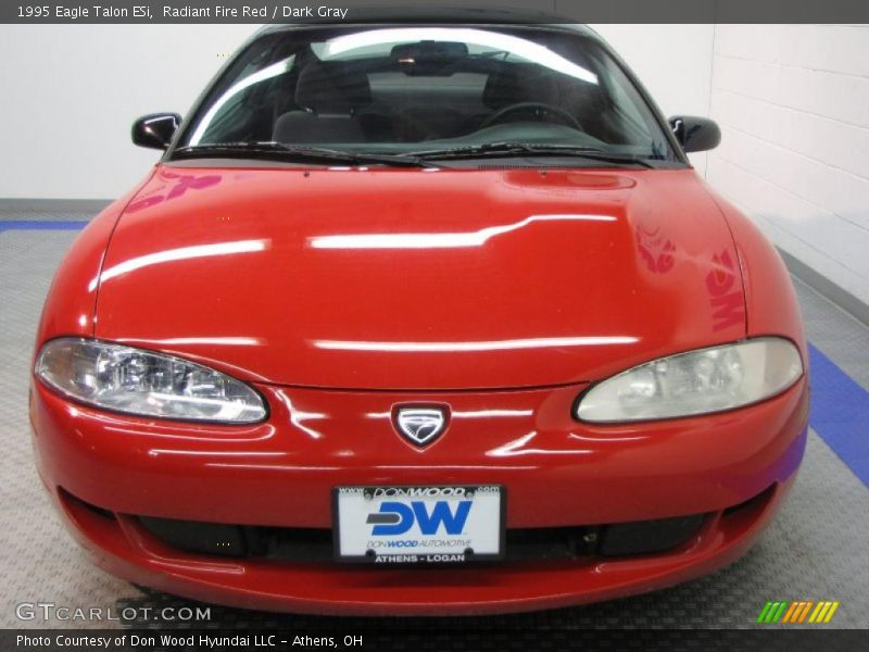 Radiant Fire Red / Dark Gray 1995 Eagle Talon ESi