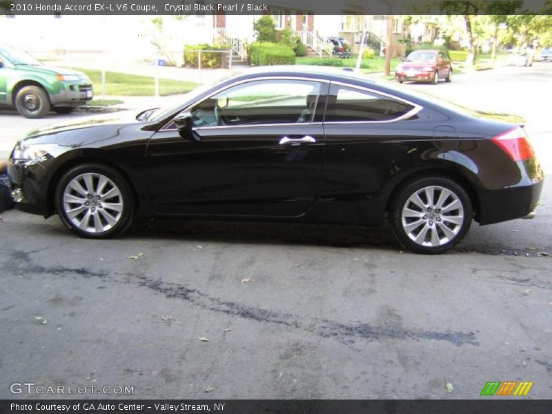 2010 honda accord ex l v6 coupe in crystal black pearl. Black Bedroom Furniture Sets. Home Design Ideas