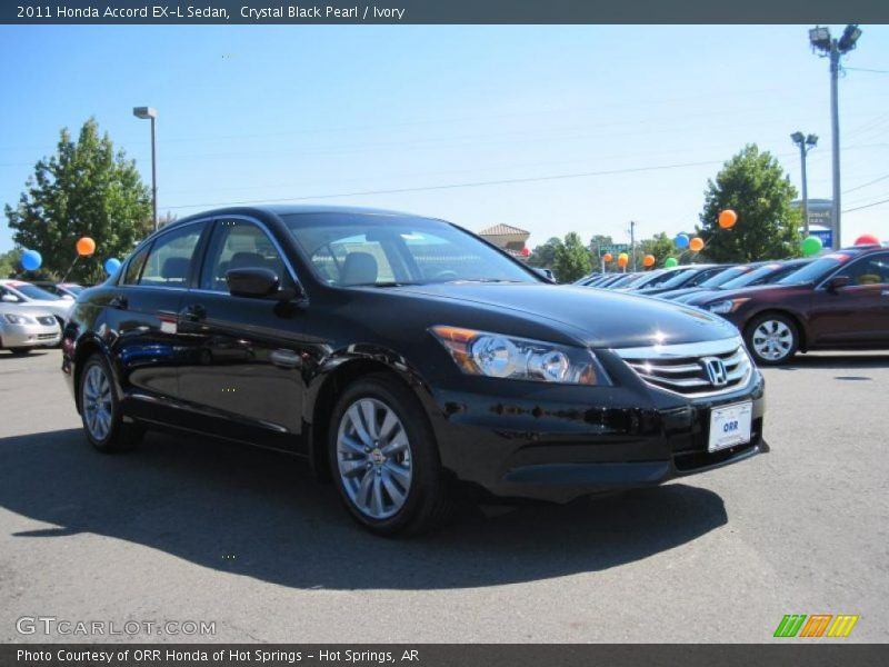 2011 Honda Accord Ex L Sedan In Crystal Black Pearl Photo