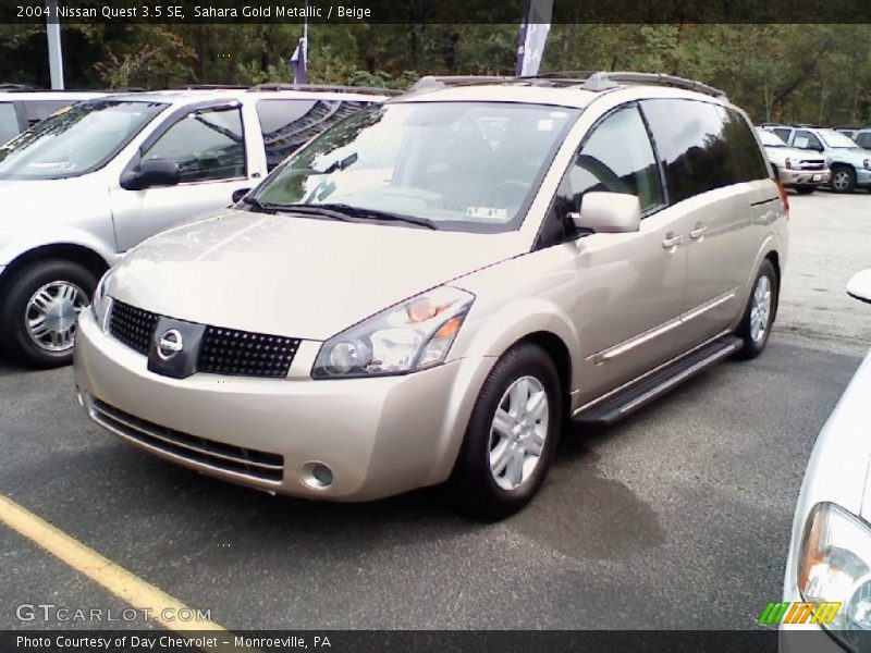 2004 nissan quest 3 5 se in sahara gold metallic photo no 37390781. Black Bedroom Furniture Sets. Home Design Ideas