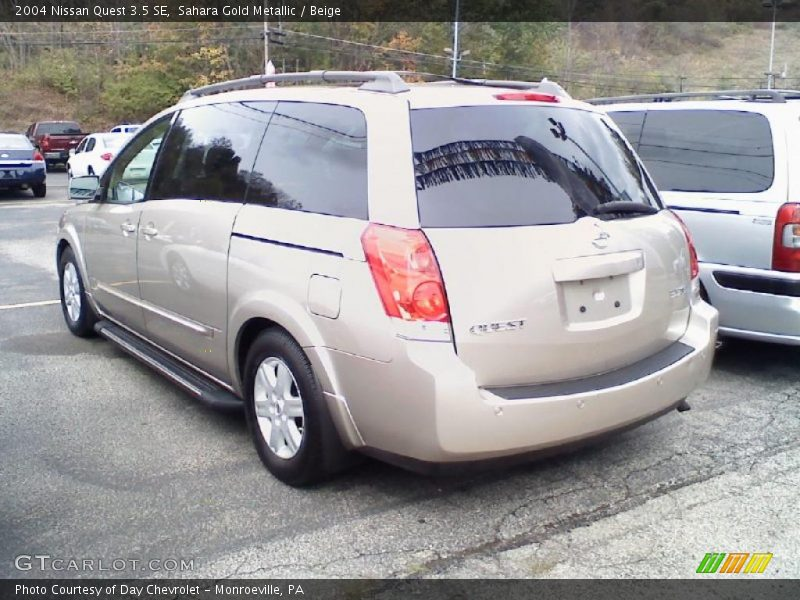 2004 nissan quest 3 5 se in sahara gold metallic photo no 37390833. Black Bedroom Furniture Sets. Home Design Ideas