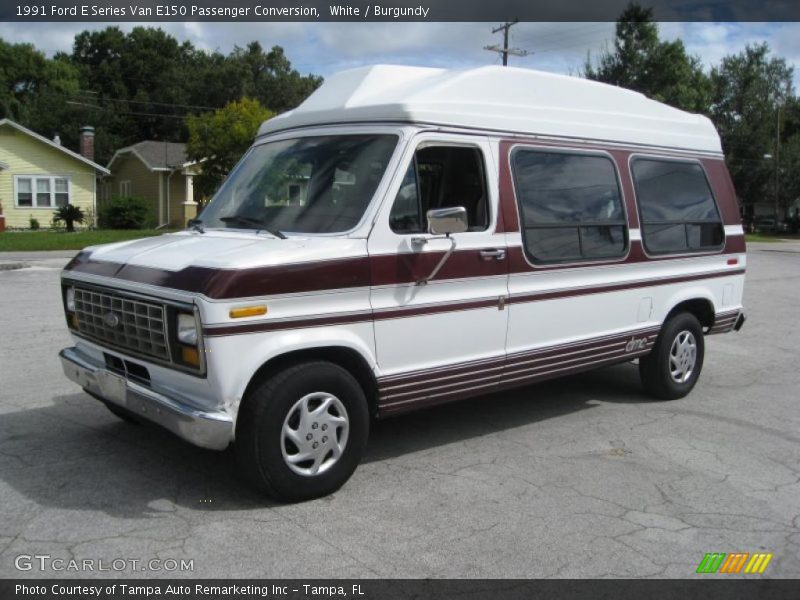 1991 Ford E Series Van E150 Passenger Conversion In White