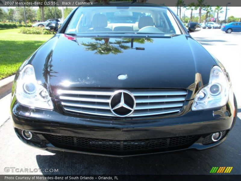 2007 mercedes benz cls 550 in black photo no 37479944 for 2007 mercedes benz cls
