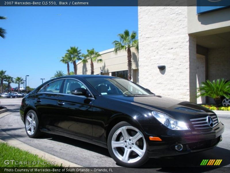 2007 mercedes benz cls 550 in black photo no 37479961 for 2007 mercedes benz cls