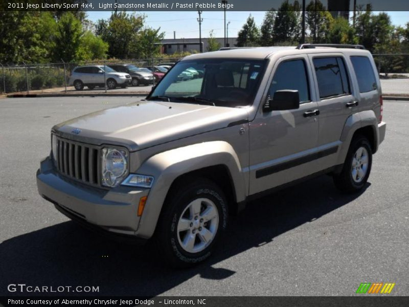2011 Jeep Liberty Sport 4x4 In Light Sandstone Metallic