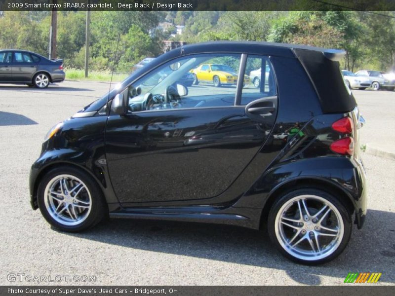 2009 smart fortwo brabus cabriolet in deep black photo no 37500372. Black Bedroom Furniture Sets. Home Design Ideas