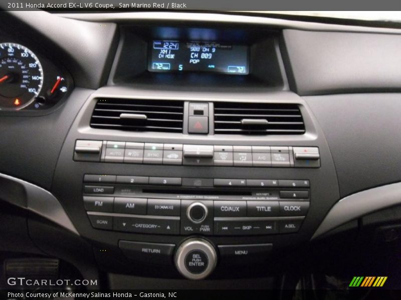 2011 honda accord ex l v6 coupe in san marino red photo no 37533120. Black Bedroom Furniture Sets. Home Design Ideas