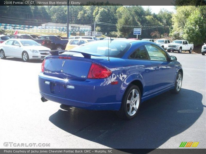 2008 pontiac g5 gt in nitrous blue metallic photo no. Black Bedroom Furniture Sets. Home Design Ideas
