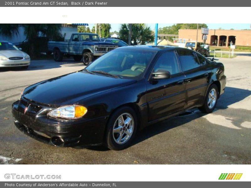 2001 pontiac grand am gt sedan in black photo no 37608877. Black Bedroom Furniture Sets. Home Design Ideas
