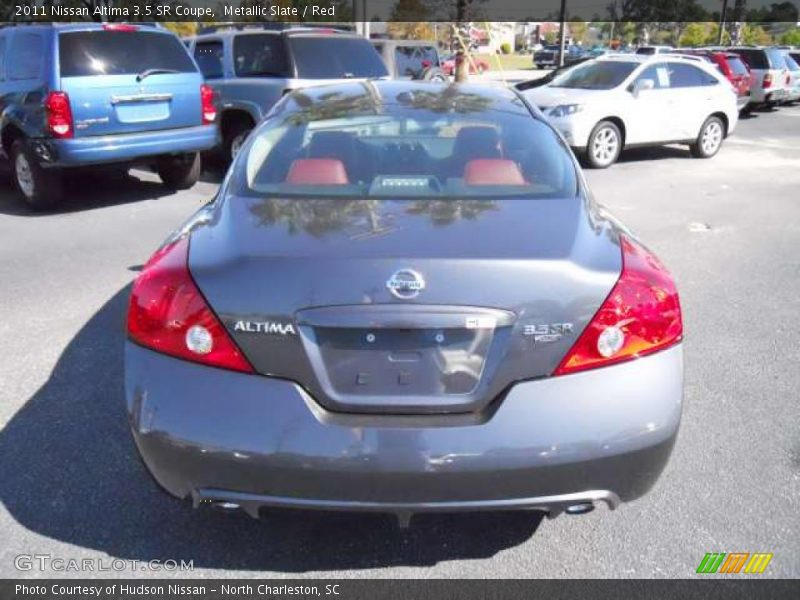 2011 nissan altima 3 5 sr coupe in metallic slate photo no. Black Bedroom Furniture Sets. Home Design Ideas