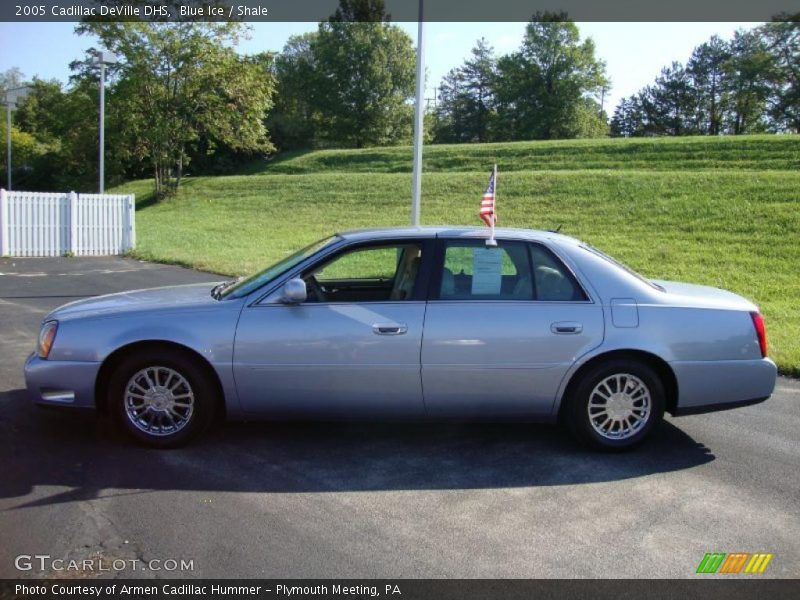 2005 Cadillac Deville Dhs In Blue Ice Photo No 37716177