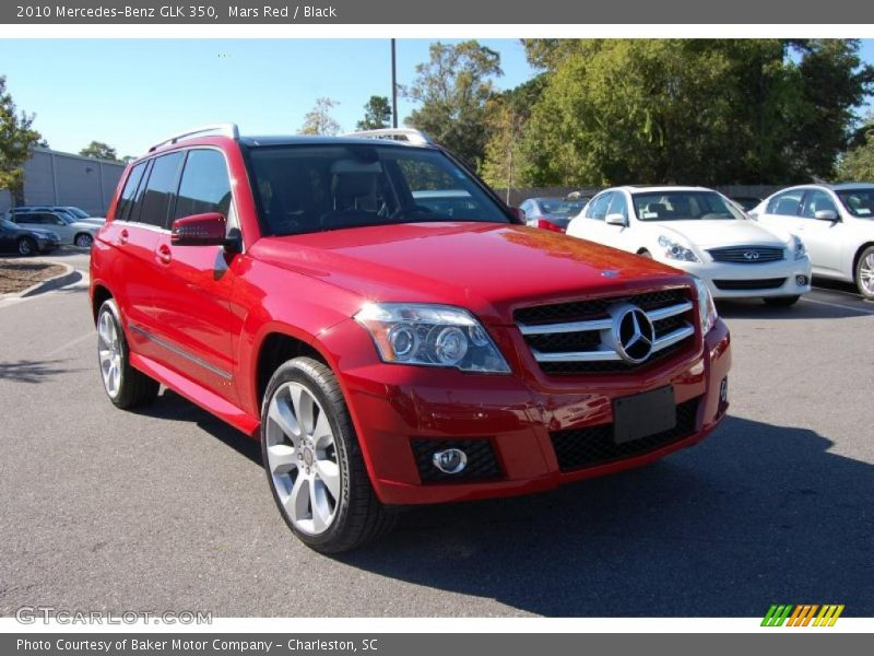 2010 Mercedes Benz Glk 350 In Mars Red Photo No 37727067