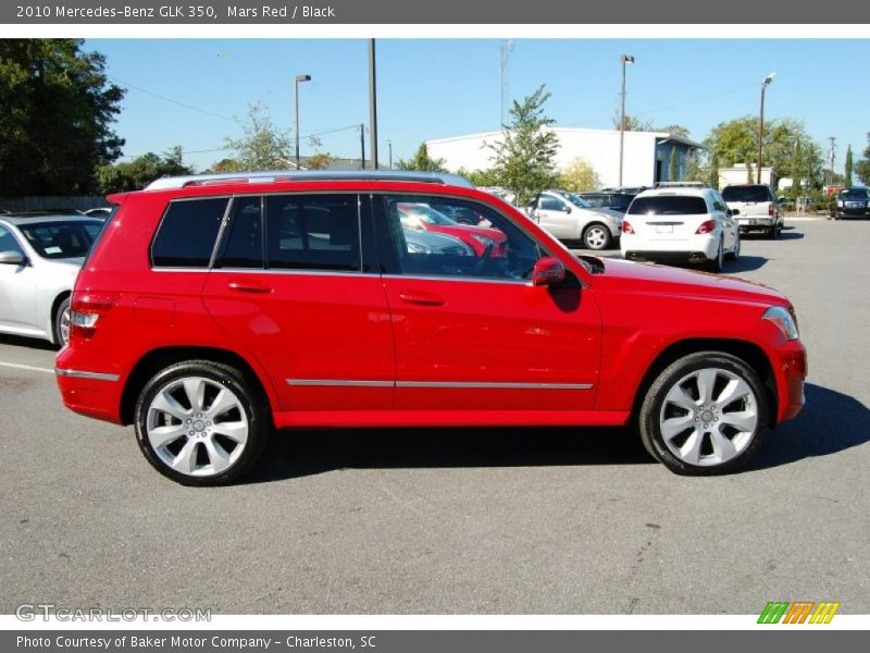 2010 Mercedes Benz Glk 350 In Mars Red Photo No 37727288