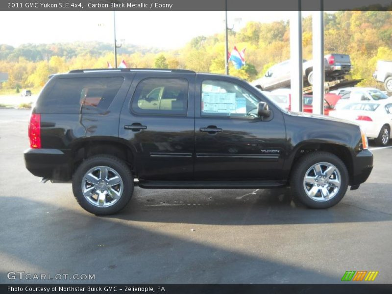 Carbon Black Metallic / Ebony 2011 GMC Yukon SLE 4x4