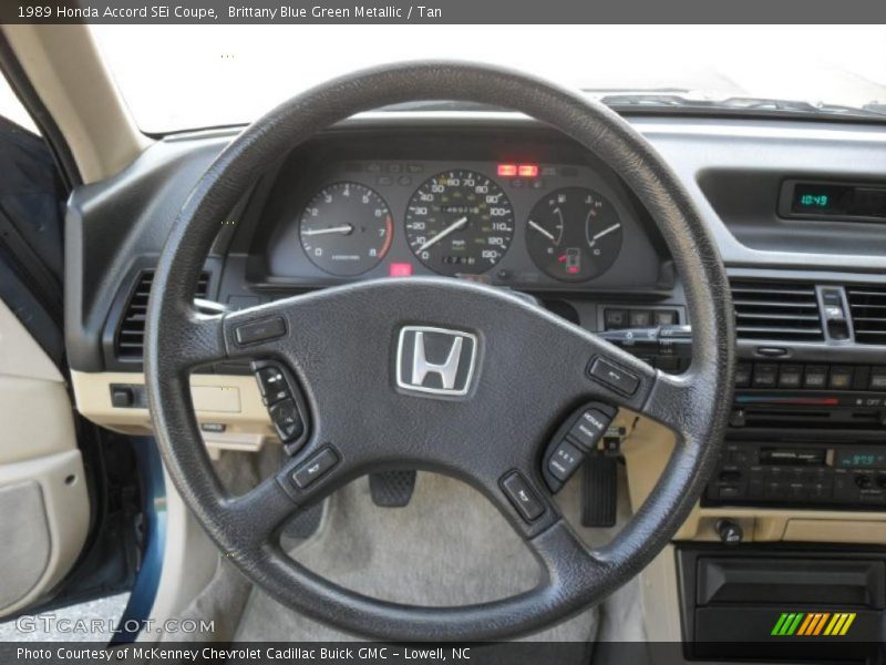 1989 Accord SEi Coupe Steering Wheel