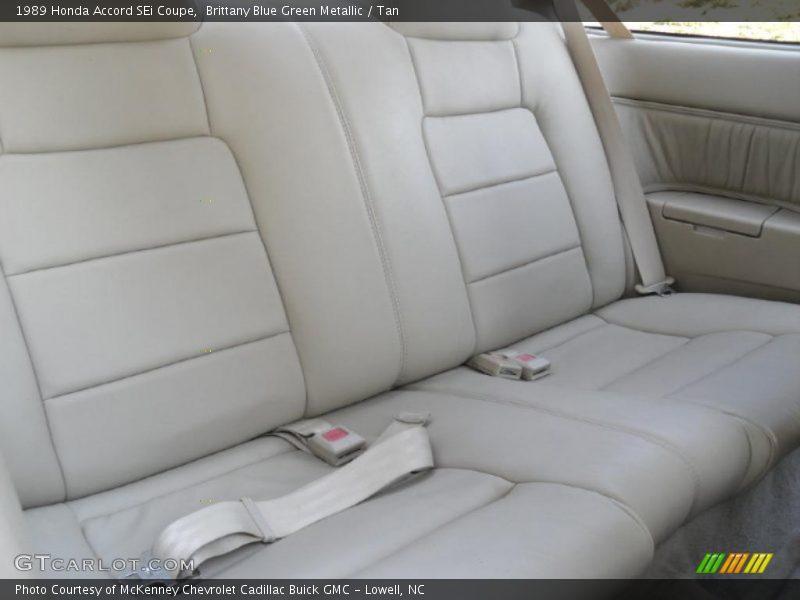 1989 Accord SEi Coupe Tan Interior