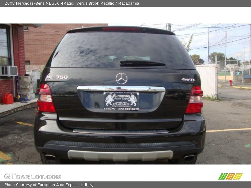 2008 mercedes benz ml 350 4matic in verde brook metallic for Mercedes benz ml 350 2008