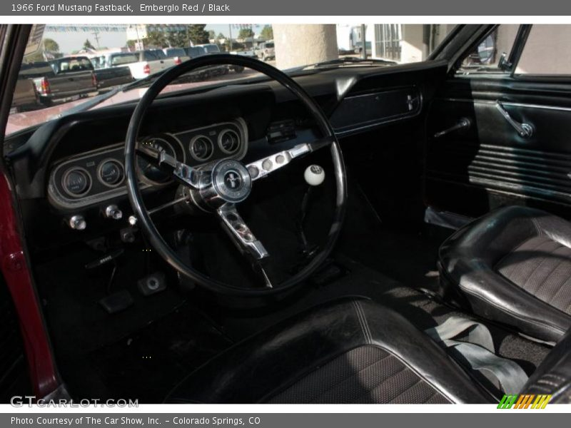 1966 Mustang Fastback Black Interior Photo No 38111347