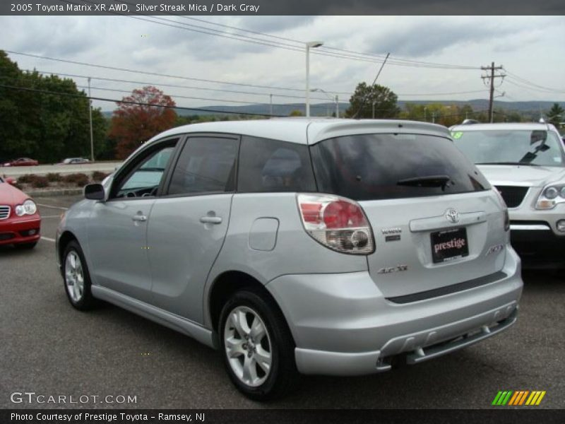 2005 Toyota Matrix XR AWD in Silver Streak Mica Photo No. 38124235 ...