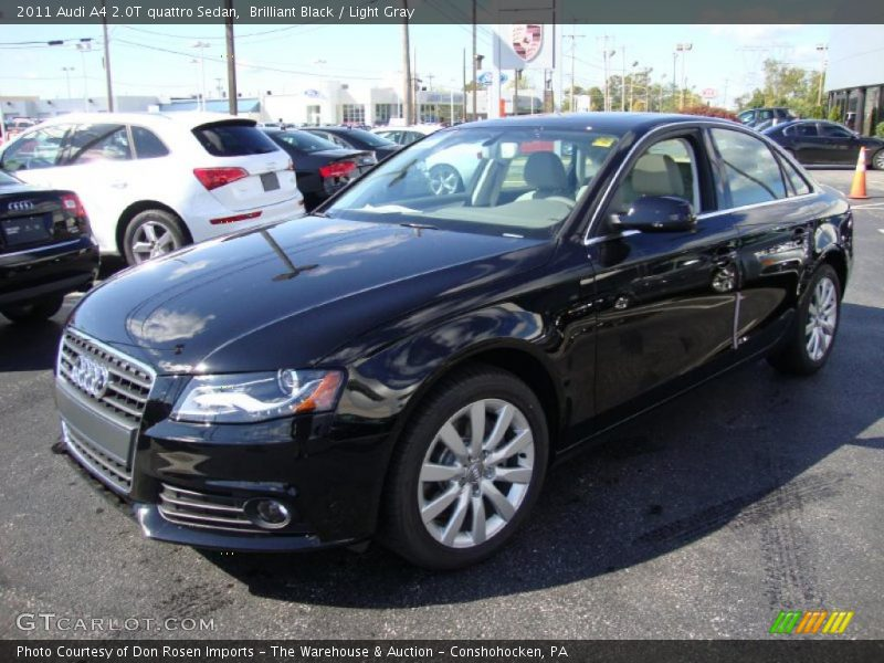 2011 Audi A4 2 0t Quattro Sedan In Brilliant Black Photo