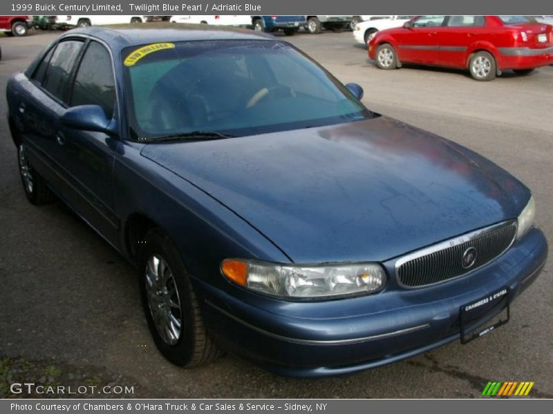 1999 buick century limited in twilight blue pearl photo no. Black Bedroom Furniture Sets. Home Design Ideas