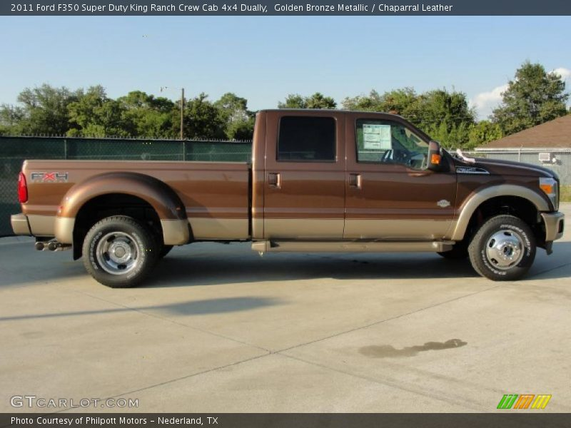 2011 ford f350 super duty king ranch crew cab 4x4 dually in golden bronze metallic photo no. Black Bedroom Furniture Sets. Home Design Ideas