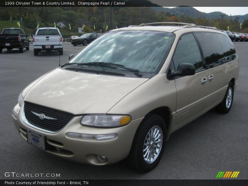1999 chrysler town country limited in champagne pearl photo no 38389819. Black Bedroom Furniture Sets. Home Design Ideas