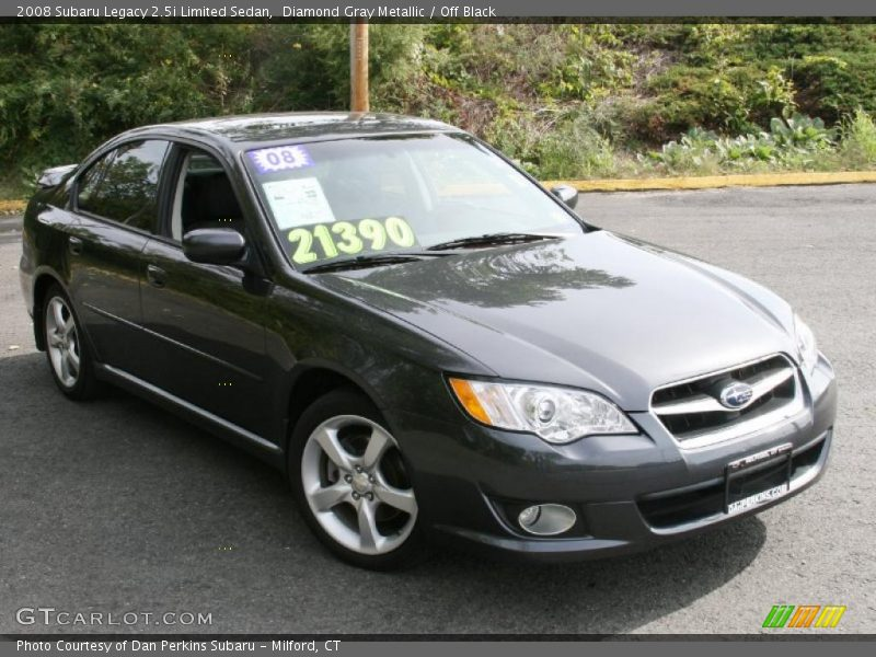 2008 subaru legacy limited sedan in diamond gray. Black Bedroom Furniture Sets. Home Design Ideas