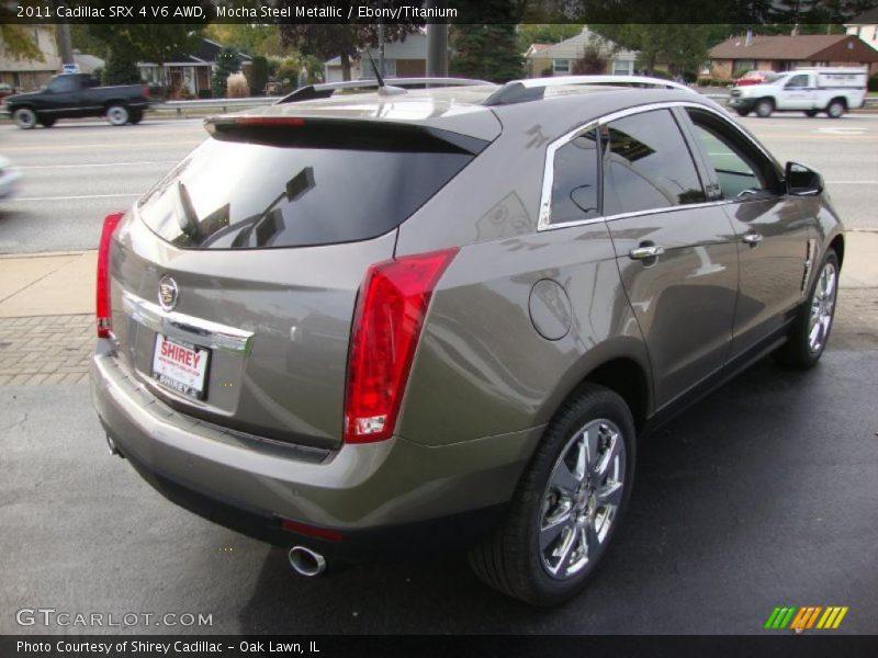 Mocha Steel Metallic / Ebony/Titanium 2011 Cadillac SRX 4 V6 AWD