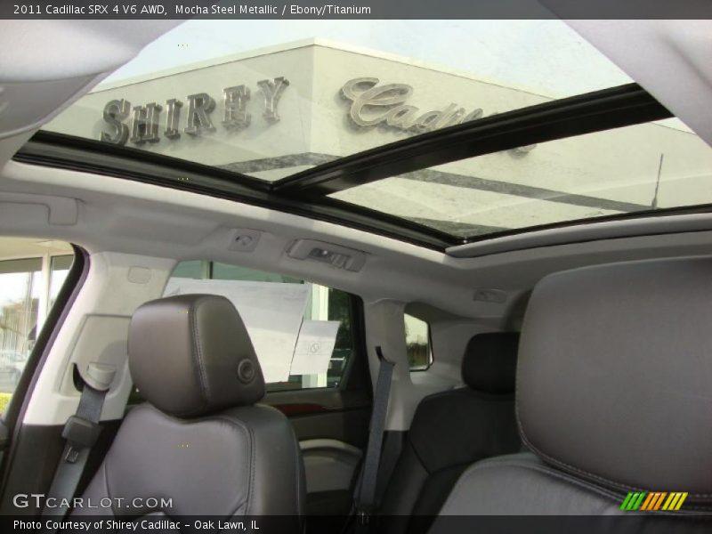 Sunroof of 2011 SRX 4 V6 AWD
