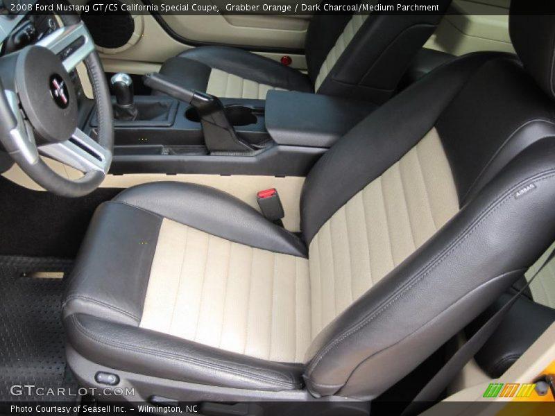 2008 Mustang Gt Cs California Special Coupe Dark Charcoal Medium Parchment Interior Photo No