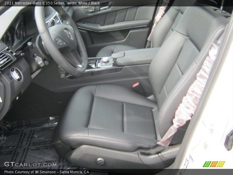 2011 E 350 Sedan Black Interior