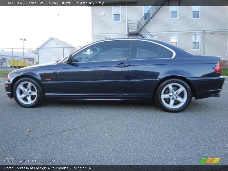 2003 bmw 3 series 325i coupe in orient blue metallic photo no 38537359. Black Bedroom Furniture Sets. Home Design Ideas