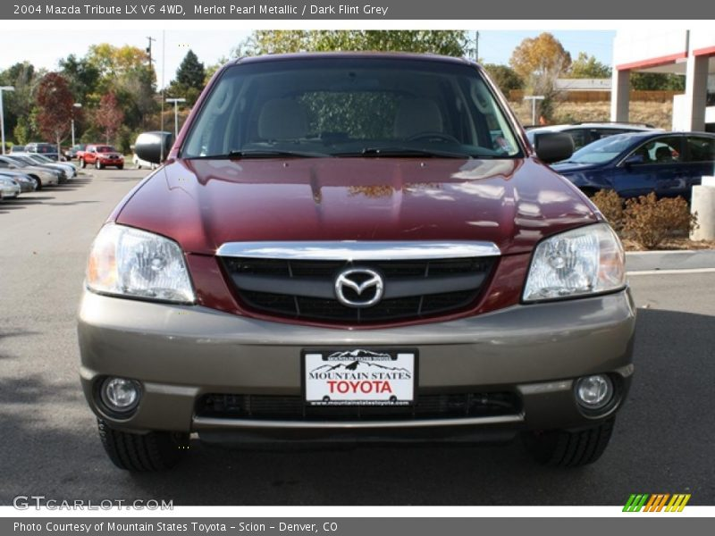 2004 mazda tribute lx v6 4wd in merlot pearl metallic. Black Bedroom Furniture Sets. Home Design Ideas