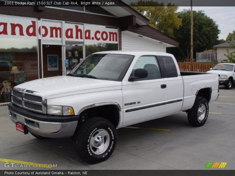 2001 dodge ram 1500 slt club cab 4x4 in bright white photo no 38612973. Black Bedroom Furniture Sets. Home Design Ideas