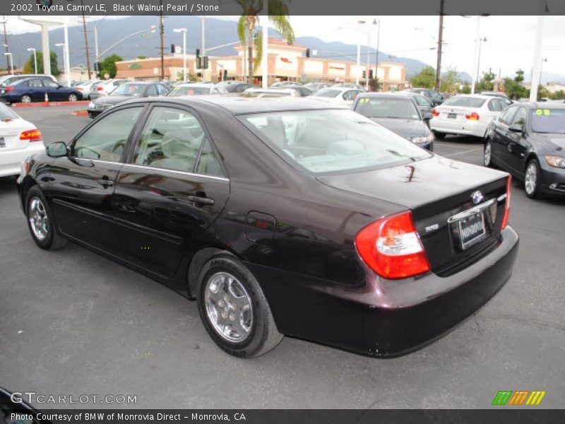 2002 Toyota Camry LE in Black Walnut Pearl Photo No. 38636846 ...