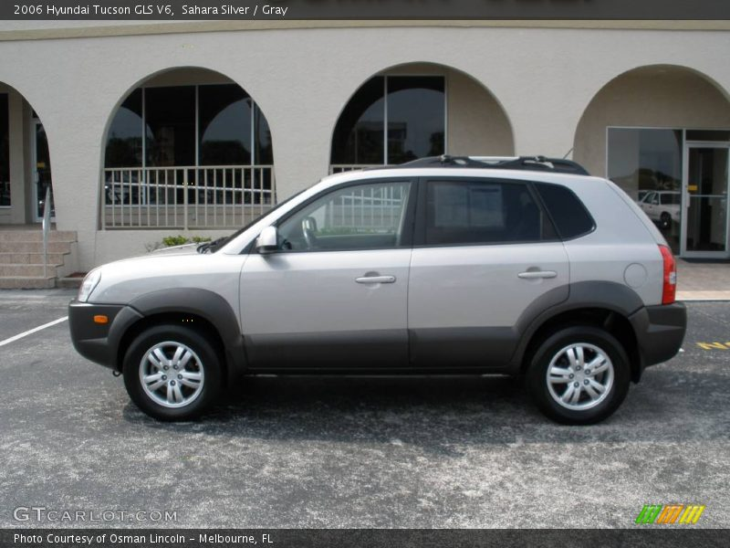 2006 hyundai tucson gls v6 in sahara silver photo no. Black Bedroom Furniture Sets. Home Design Ideas
