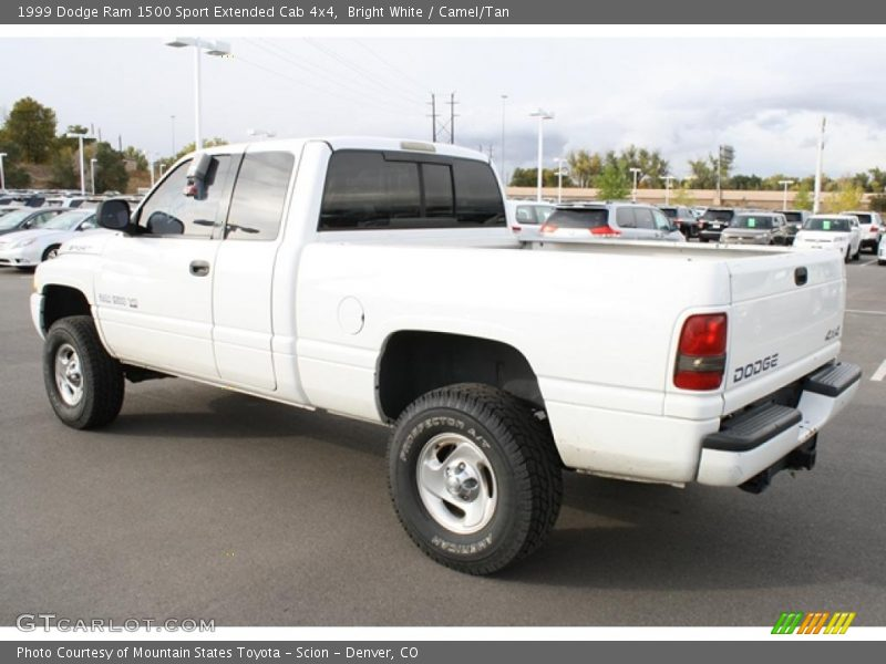 1999 dodge ram 1500 sport extended cab 4x4 in bright white photo no 38815200. Black Bedroom Furniture Sets. Home Design Ideas