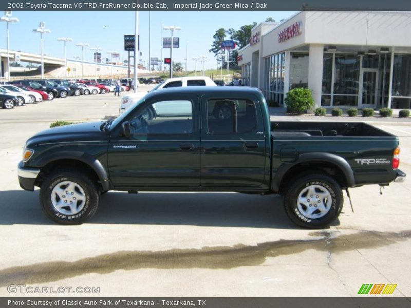 2003 toyota tacoma v6 trd prerunner double cab in imperial jade green mica photo no 38847848. Black Bedroom Furniture Sets. Home Design Ideas