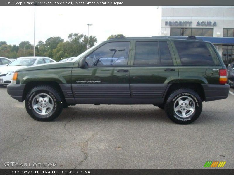 1996 jeep grand cherokee laredo 4x4 in moss green metallic photo no. Cars Review. Best American Auto & Cars Review