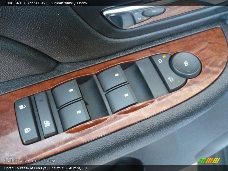 Controls of 2008 Yukon SLE 4x4