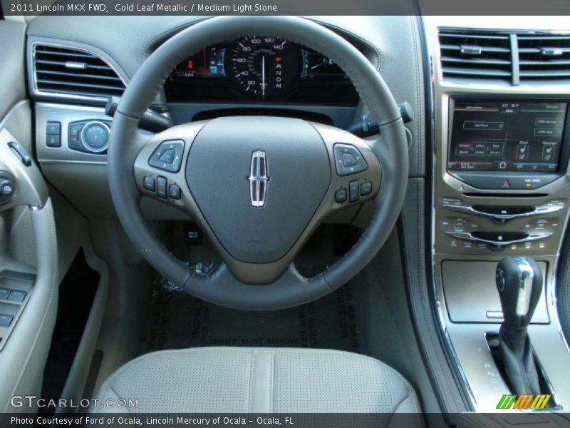 2011 MKX FWD Steering Wheel